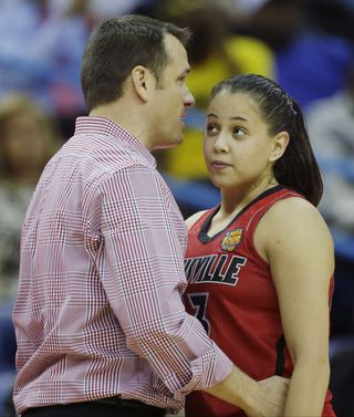 Shoni Schimmel and Jeff Walz